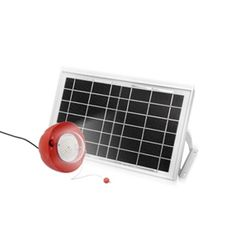 UPE-SLS07 Solar Lighting System Product Description: • Complete kit includes everything you need to hook up solar and lighting. • Great for power usage in remote area and outdoor activities. FEATURES Kit includes: solar panel, LED lamps, mounting bracket Solar panel:8W         Battery: li-ion,8Ah Lamp:3W LED         Working time: 8-10hrs