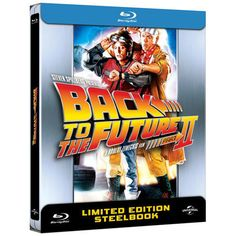 Back to the Future Part II (1989) [Limited Edition] Blu-ray Steelbook