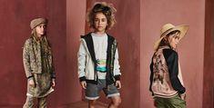 Deze week lanceerde Scotch & Soda haar nieuwe collectie voor kinderen en dames. En wow, wat word ik daar toch een potje hebberig van. Dit zijn mijn favoriete items voor kids! Scotch, Military Jacket, Kimono Top, Kids, Jackets, Clothes, Women, Fashion, Young Children