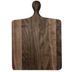Butternut Brooklyn Square Short Handle Cutting Board Brown By found on Polyvore featuring home, kitchen & dining, kitchen gadgets & tools, kitchen tools & utensils, brown cutting board and walnut cutting board