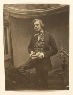 Roger Fenton (British, 1819–1869). [Self-Portrait], February 1852. The Metropolitan Museum of Art, New York. Gilman Collection, Purchase, Harriette and Noel Levine Gift, 2005 (2005.100.285)