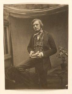 Roger Fenton (British, 1819–1869). [Self-Portrait], February 1852. The Metropolitan Museum of Art, New York. Gilman Collection, Purchase, Harriette and Noel Levine Gift, 2005 (2005.100.285)