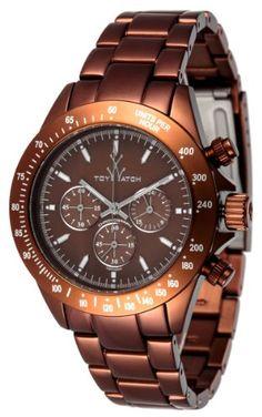 ToyWatch Metallic Brown Aluminum Chronograph Unisex Watch ME12BR Toy Watch,http://www.amazon.com/dp/B0058PEXW8/ref=cm_sw_r_pi_dp_aBt9sb194SRQ6VVQ