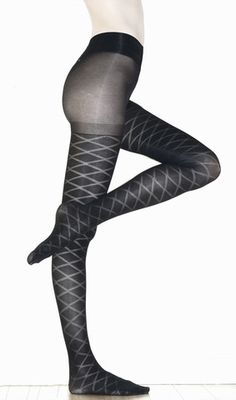 Not Too Tights | Diamond Pattern Tights | 28 Bedford