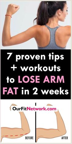 Best Exercises to Lose Arm Fat In Two Weeks Loose Arm Fat, Lose Arm Fat Fast, Lose Lower Belly Fat, How To Lose Weight Fast, Loose Belly, Reduce Arm Fat, Reduce Thighs, Weight Loss Secrets, Nutrition