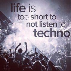 #techno #people #letstechno #party #rave