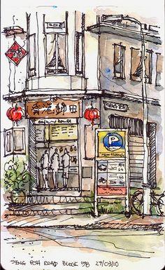 Seng Poh Road @ Tiong Bahru, Singapore | Flickr - Photo Sharing!