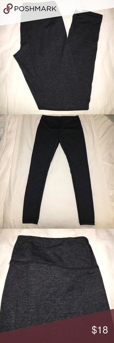 Zella Live-in Leggings | Size M Zella live-in leggings, heathered black & dark green, size medium, full length, fitted Zella Pants Leggings