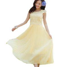 Damen boehmisches Sommerkleid aus Chiffon Cocktailkleid Ballkleid Strandkleid Fashion Season, http://www.amazon.de/dp/B00JRPLAY4/ref=cm_sw_r_pi_dp_pmJvtb0WPCJNW