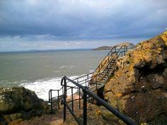 North Berwick at high tide