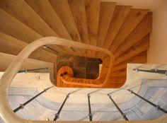 eiken wenteltrap historische franse stijltrap   trappenspecialist jeroen heksloot utrecht