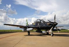 The A-29 Super Tucano will provide the Afghan Air Force with light air support. NATO Training Mission photo by Petty Officer 1st Class Chris Fahey