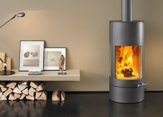Pi-Ko stove is an attractive wood burning stove from Austroflam with a winning cylindrical shape that would be at home in any contemporary or transitional interior. The Pi-Ko stove's...