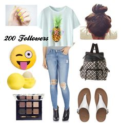 """""""My Outfit Today-Thanks Guys!!!!!"""" by eowynthecat ❤ liked on Polyvore featuring moda, Flying Monkey, FitFlop, Madden Girl, Tory Burch y Eos"""