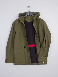 Spring Event - Off Selected Brands Lyle Scott, Military Jacket, Hoods, Hooded Jacket, Pine, Mens Fashion, Board, Casual, Green