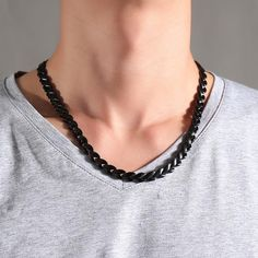 Energy Ion Chain Link Necklace