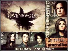 RAVENSWOOD  Come back on!! January needs to come!