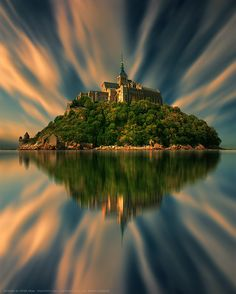 Mont Saint Michel - Gothic Benedictine Abbey, France