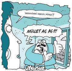 Millet aç aç! Ac Ac, Western World, Fun Comics, Caricatures, Children Photography, Smurfs, Peanuts Comics, Funny Pictures, Geek Stuff