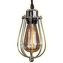 Lampa wisząca KOPENHAGEN LOFT CHROM, lampy