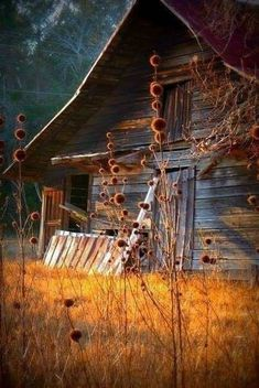 Rock`n Roll,Blues,Country and Americana Country Barns, Old Barns, Country Life, Country Charm, Country Living, Old Farm Houses, Bird Houses, Barn Pictures, Beautiful Nature Pictures