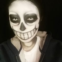 Just ordered some more makeup stuff to try my next Undertale character coughitsanotherskeletoncough Lol sorry I hope you're not sick of my Sans photos hahaha (Don't forget to check out my Sans makeup tutorial!)