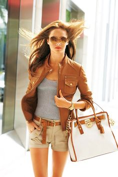 Timeless look-can adapt with casual dress, skirt, jeans, Capri, cropped pants or wear as is with the shorts. Great pieces for traveling business or vacation can get several looks with inter-changing pcs and accessories.