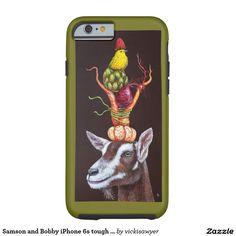 Samson and Bobby iPhone 6s tough case