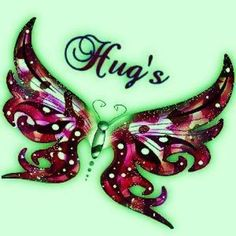 Glitter Graphics: the community for graphics enthusiasts! Butterfly Quotes, Pink Butterfly, Hug Pictures, Amazing Pictures, Hug Images, Pictures Images, Pink Glitter Background, Hug Gif, Hug Quotes