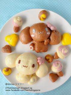 Cinnamoroll steamed bun ^o^
