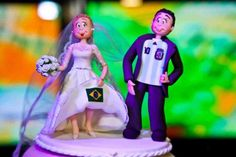 cake topper- this would have been perfect for tiff wedding