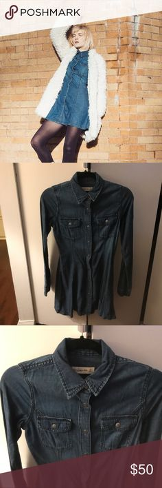 Abercrombie and fitch denim dress Sz XS Abercrombie and fitch denim dress Sz XS Abercrombie & Fitch Dresses