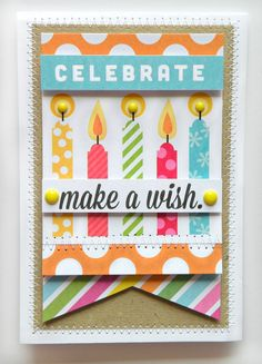 POCKET PAGES birthday card using mambi items. Love it!