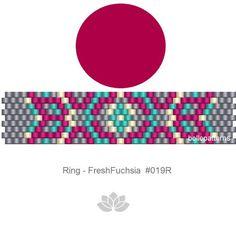 peyote ring patternPDF-Download 019R beaded ring pattern