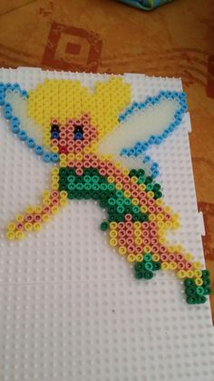 Tinker Bell hama beads by Estelle Marquet