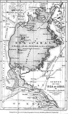 Survey of the Sea of Aral