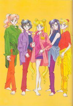 Naoko Takeuchi, Bishoujo Senshi Sailor Moon, BSSM Original Picture Collection Vol. Sailor Moon Y Darien, Sailor Moon Fan Art, Sailor Moon Character, Sailor Moon Manga, Sailor Jupiter, Sailor Venus, Sailor Mars, Sailor Moon Outfit, Sailor Moon Crystal