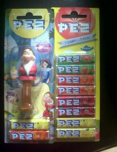 I don't care about the dispenser that much, I just love the taste of Pez.