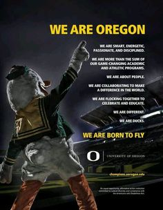 Oregon Ducks!