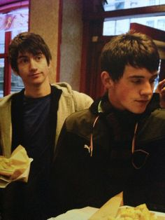 Young Jamie and Alex