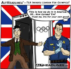 TSA To London Airports For Olympic Pat Downs
