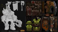 Daniel Orive - Character Artist Portfolio - 3D Art