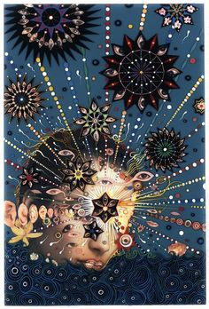 Fred Tomaselli, Summer Swell 2007