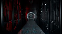 Sci Fi Interior on Behance