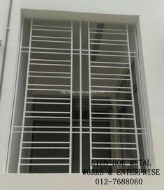 W109 Home Window Grill Design, Window Grill Design Modern, Grill Gate Design, Iron Window Grill, Balcony Grill Design, Railing Design, Window Design, Steel Grill Design, Steel Gate Design