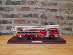 Franklin Mint Pierce Snorkel FIRE TRUCK 1:32 Scale Model Diecast  #FranklinMint