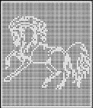 wild horse crochet afghan pattern