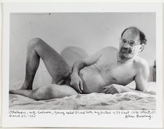 Allen Ginsberg: Self-Portrait. Allen Ginsberg, Jack Kerouac, Literature, Portrait, Caption, Bedroom, Street, Beat Generation, Naked