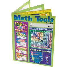 Four Pocket Math Resource Folder Intermediate
