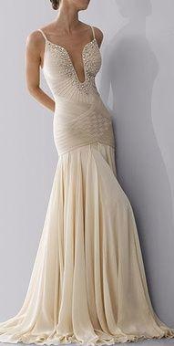 vestido para casamento com decote v --------------------------------------------- http://www.vestidosonline.com.br/modelos-de-vestidos/vestidos-de-noiva
